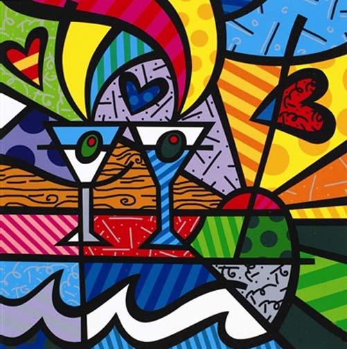 El Colorido Arte De Romero Britto Llega A Nuestras Manos